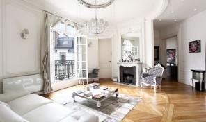 Renovated Top Floor Apartment in a Haussmann Building, Paris