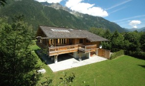 Exceptional Chalet in Exclusive Plaine des Praz with Mont Blanc Views